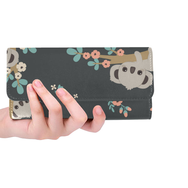 Women's Trifold Long Clutch Wallets