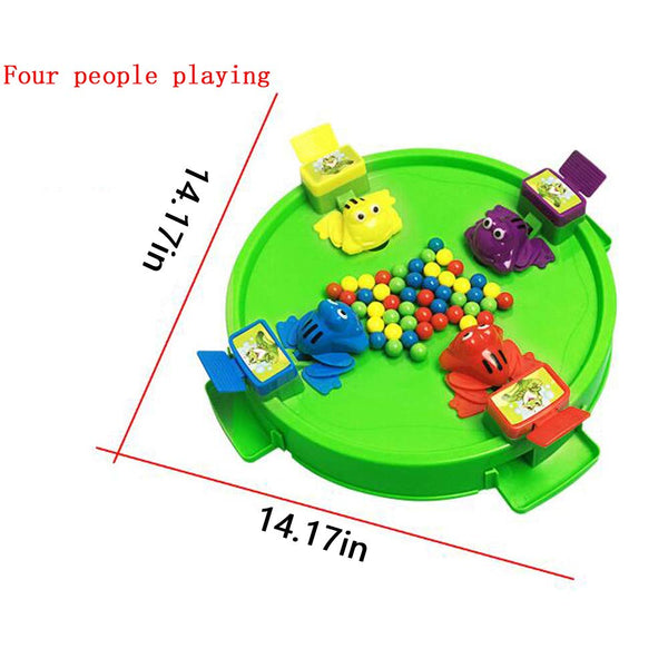 Toys for Boys and Girls Over 3 Years Old, Feeding Small Frogs Swallowing Beads and Eating Beans Casual Puzzle Desktop Games Parent-Child Game Toys