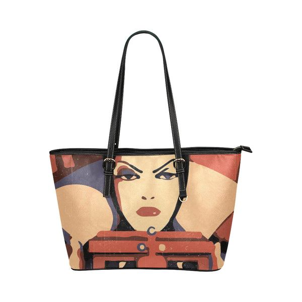 Leather Tote Bag