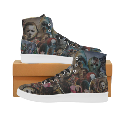 Villain Heads High Top Retro Men's Sneaker