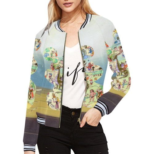 Mouse Women Bomber Jacket