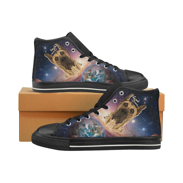 Women High Top Canvas Shoes