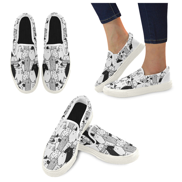 Women's Slip-on Canvas Shoes