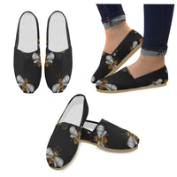 Seamless Pattern With Honey Bee Loafers Flats - Perinterest