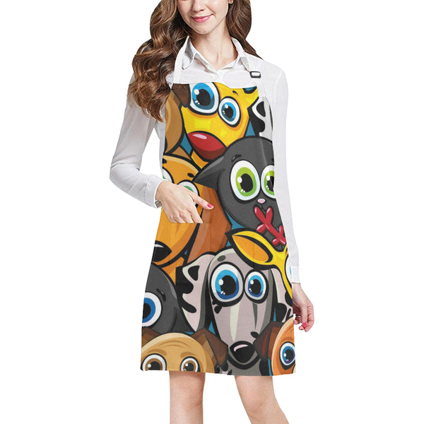 All Over Print Adjustable Apron