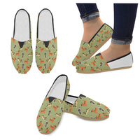 Seamless Dog Loafers Flats - Perinterest