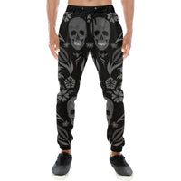 Skulls Mens Gym Baggy Slacks Pants - Perinterest