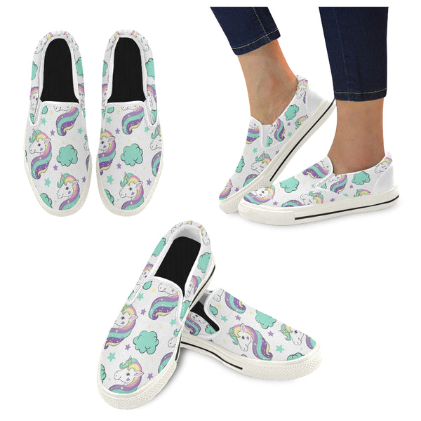Women's Unusual Slip-on Canvas Shoes