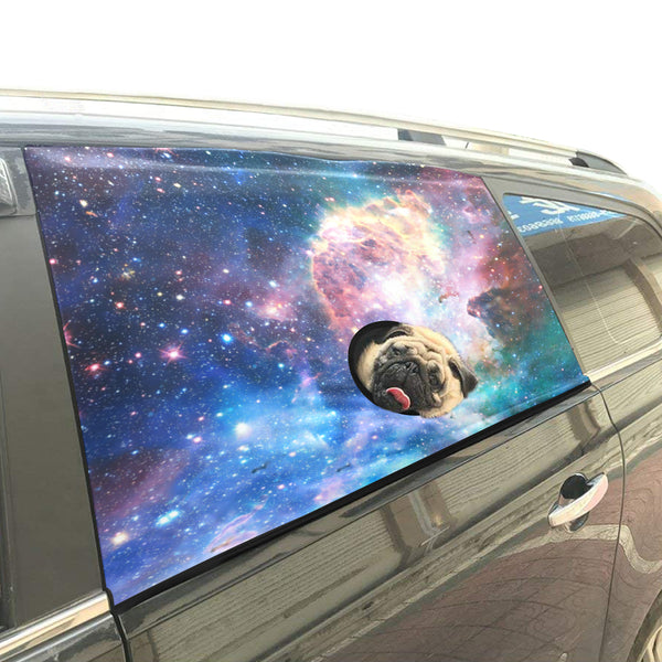 Pet Car Window Curtain