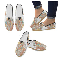 Seamless Pattern Dogs Loafers Flats - Perinterest