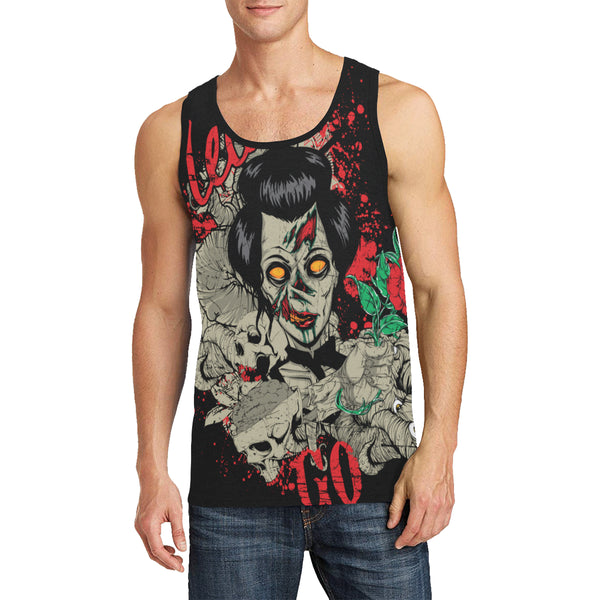 Men's All Over Print Tank Top