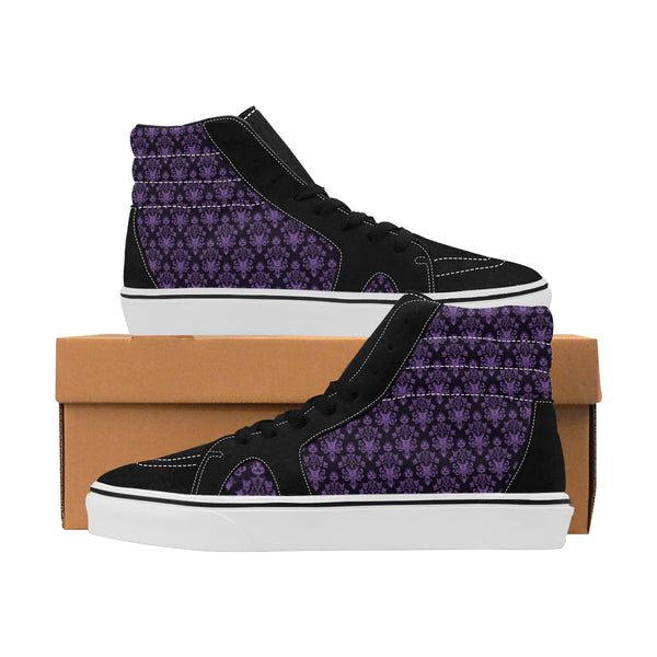 Men High Top Skateboarding Shoes