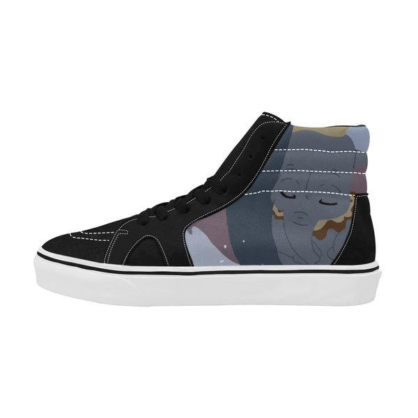 High Top Skateboarding Shoes