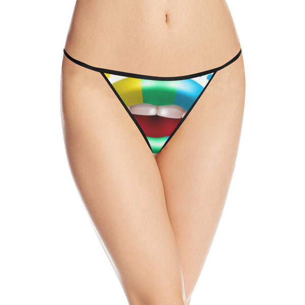 Women's All Over Print G-String Panties