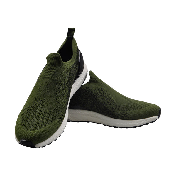 Green Women Casual Wear Running Sneakers