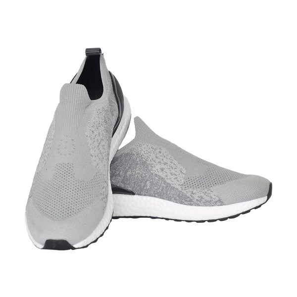 Grey Women Casual Wear Running Sneakers