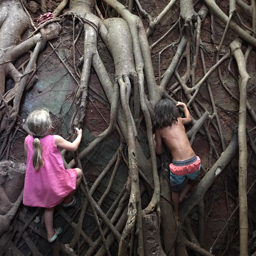 kids climb redi fort