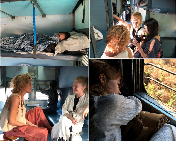 Train Rides through India