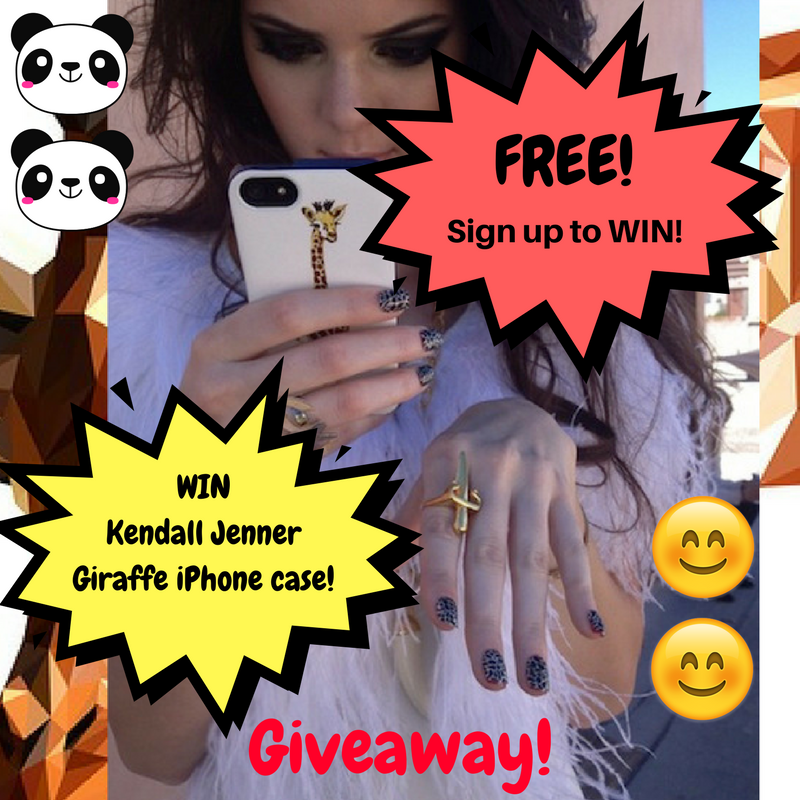 Win FREE stuff - Kendall Jenner Phone Case Giveaway!
