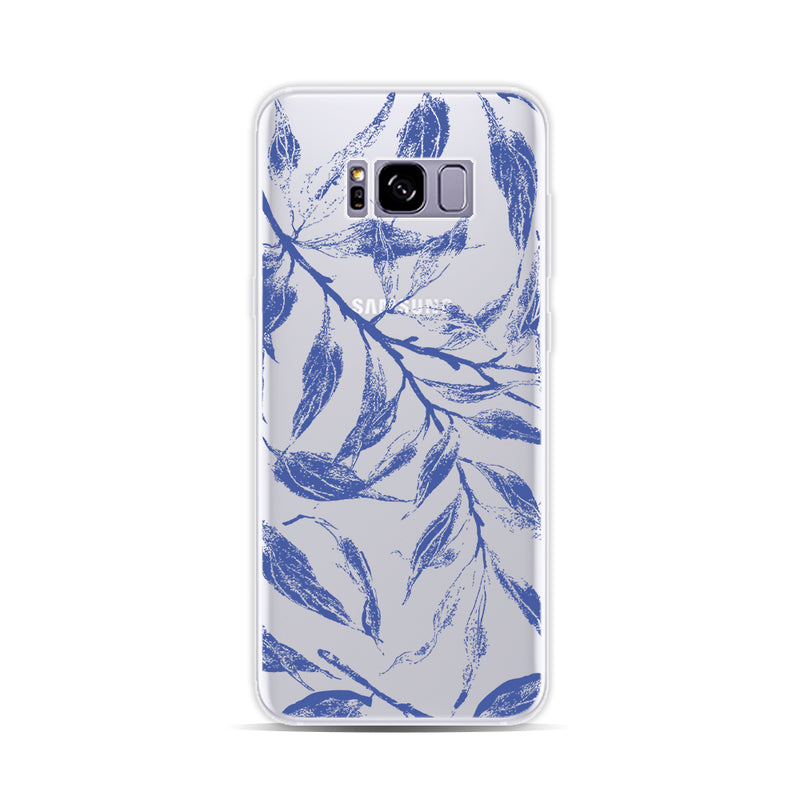 Leaves in Blue - DesignoCase