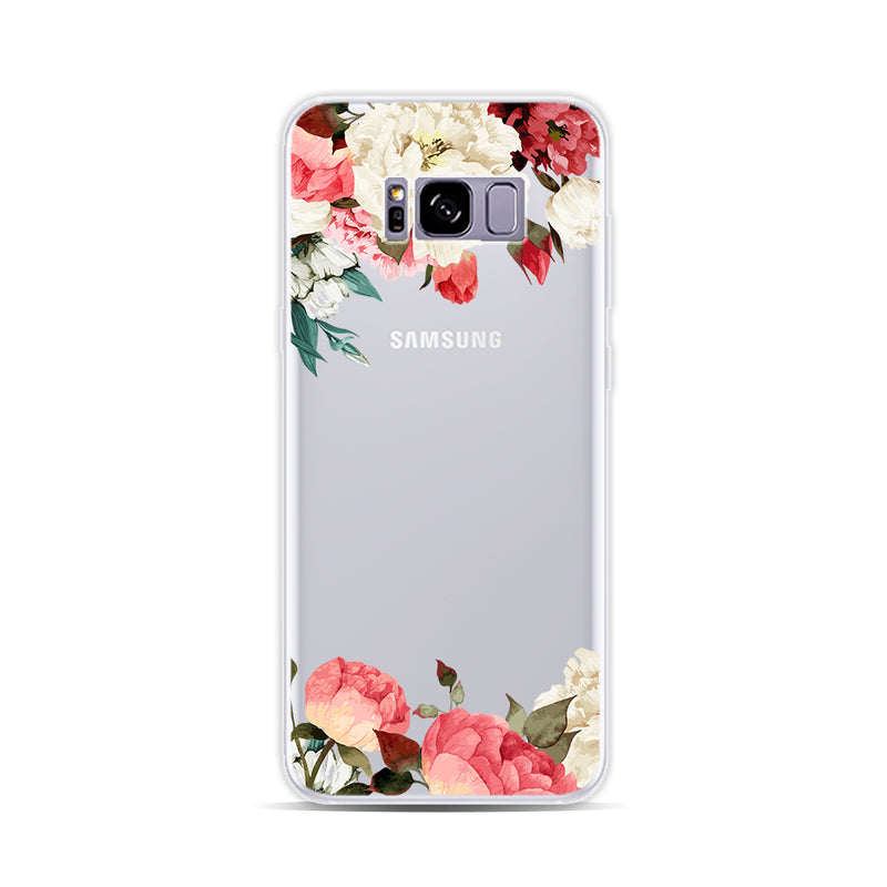 Red and White Flowers 2 - DesignoCase