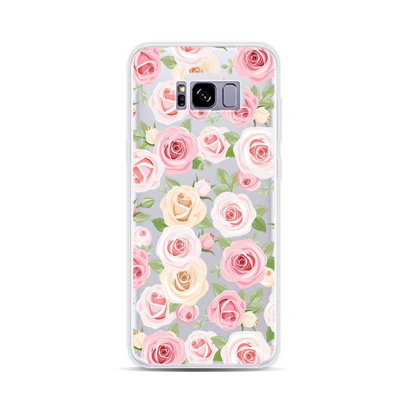 Yellow and Pink Rose - DesignoCase