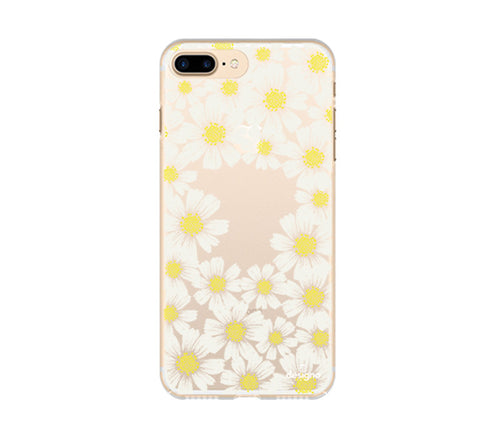 Custom iPhone 7 Plus Daisy Flowers - DesignoCase