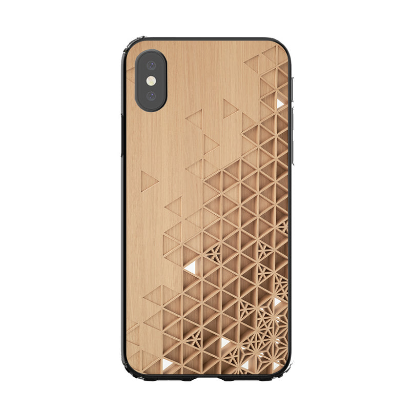 Carved Wood Case Phone cases custom - DesignoCase