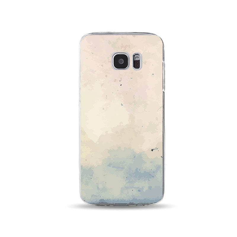 Pink and Blue Water Paint - DesignoCase