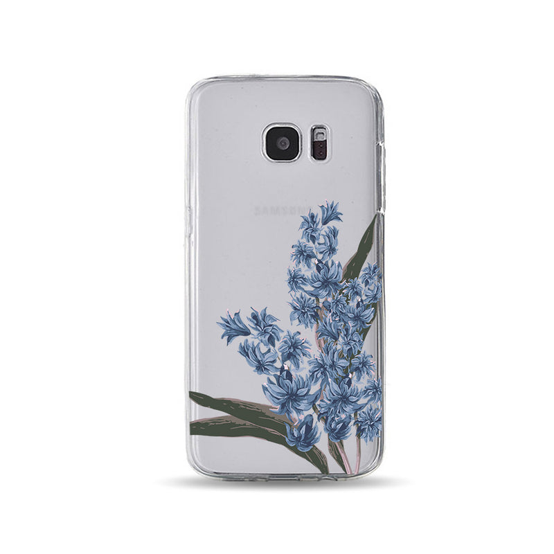 Blue Flowers on Branches - DesignoCase