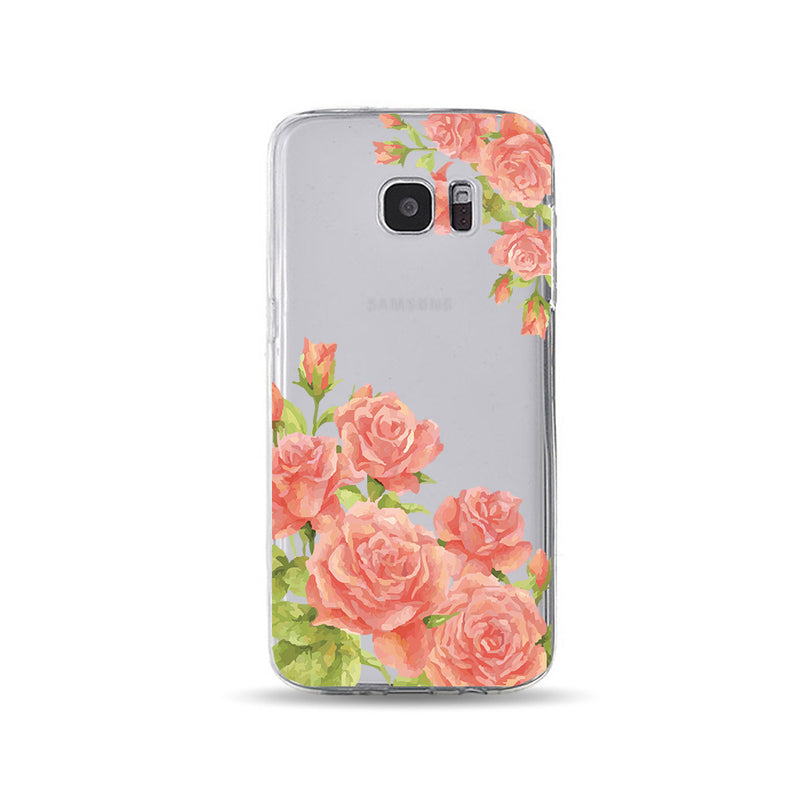 Blooming Orange Rose - DesignoCase