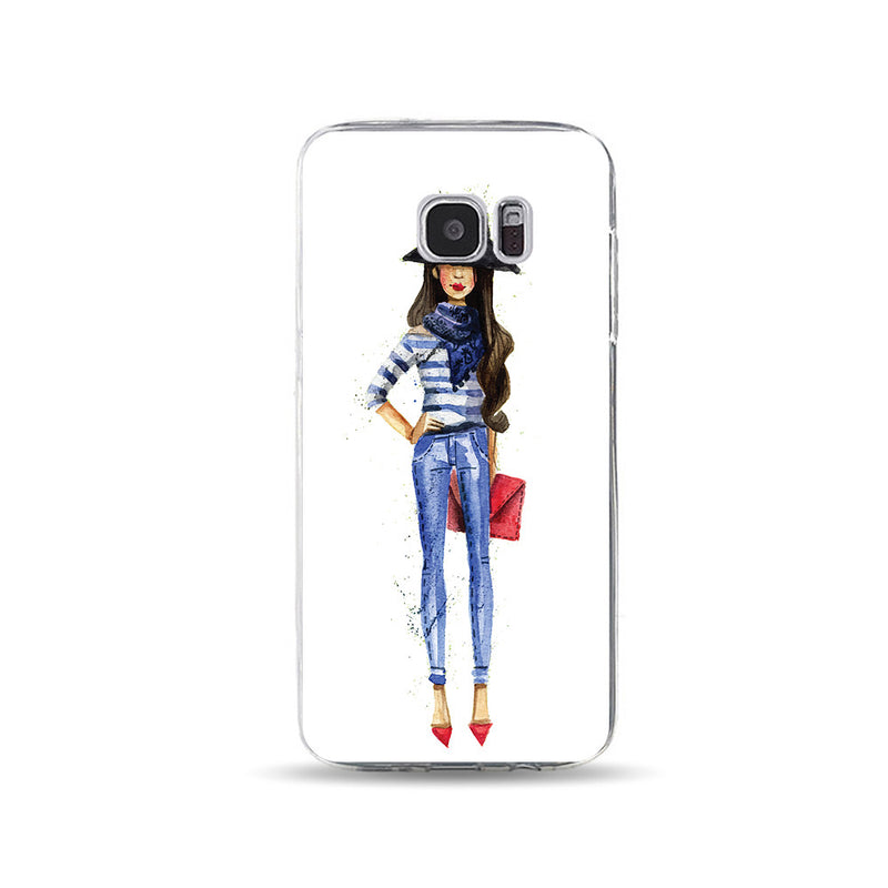 Lady with Jeans - DesignoCase