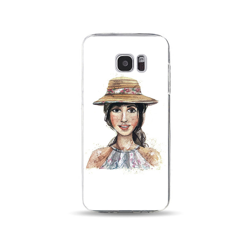 Young lady with Fedora - DesignoCase