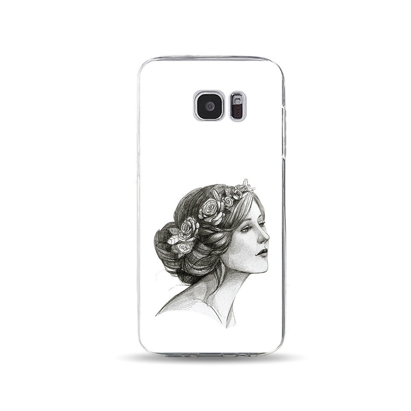 Pencil Sketch of Greek Lady - DesignoCase