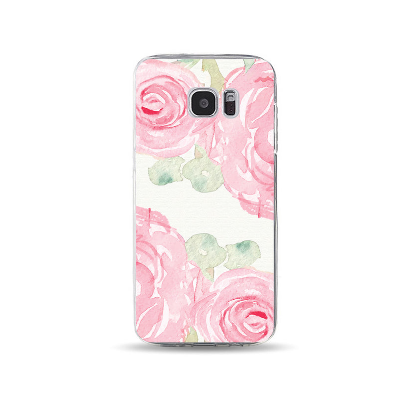 Pink Watercolor Floral 2 - DesignoCase