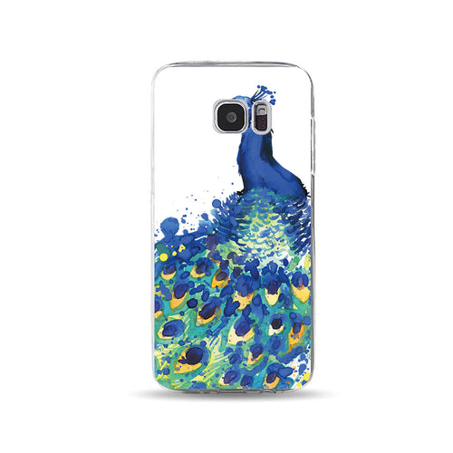 Dark Blue Peacock - DesignoCase