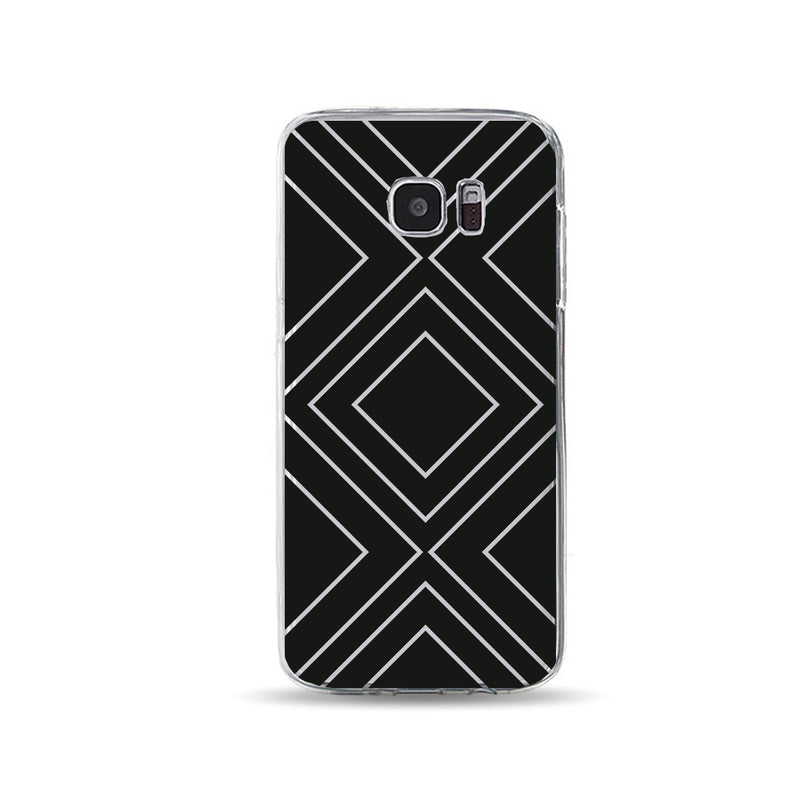 Big Black Squares Cool phone cases - DesignoCase