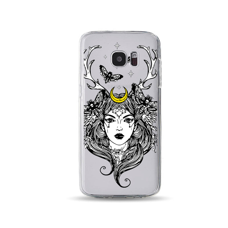 Lady with Deer Horns 1 - DesignoCase