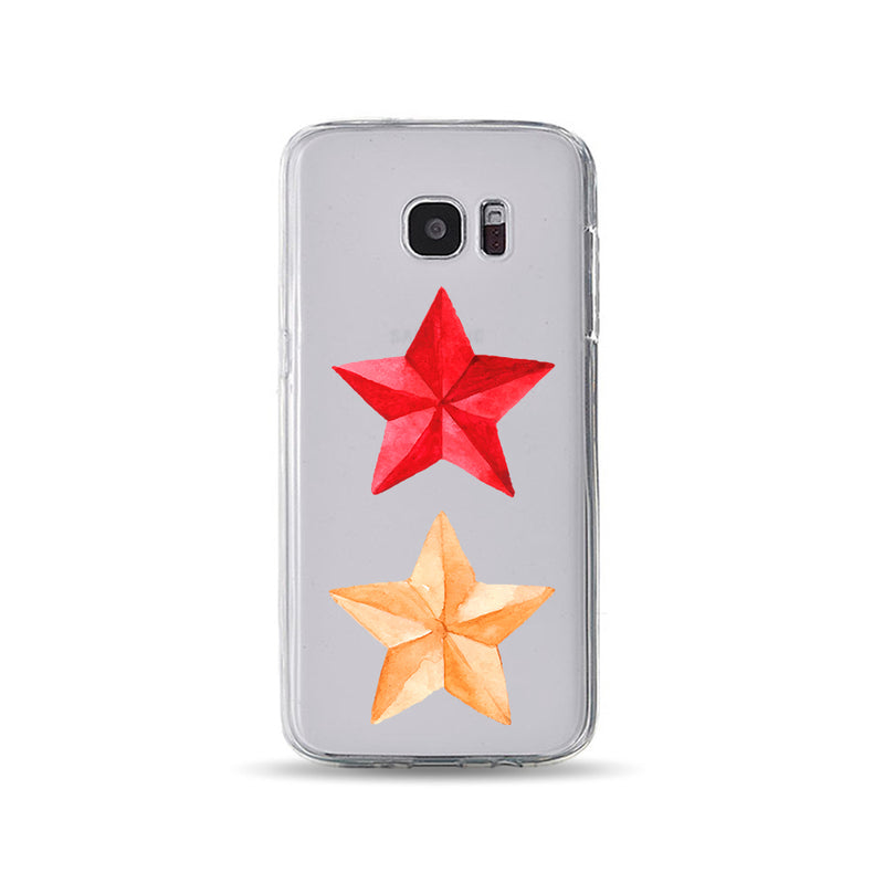 Red and Yellow Stars - DesignoCase
