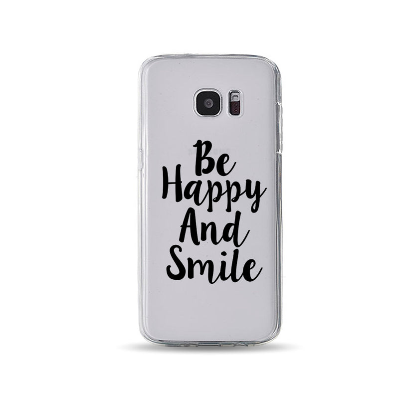 Be Happy And Smile Cool phone cases - DesignoCase