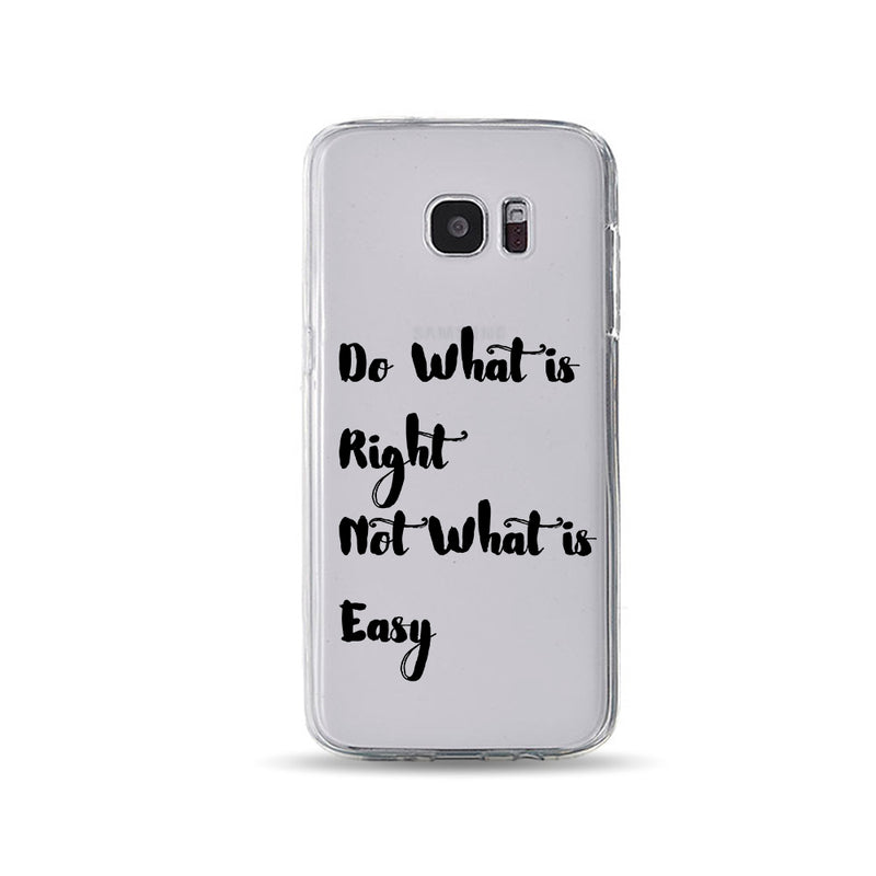 Do what Is Right Not what Is Easy - DesignoCase