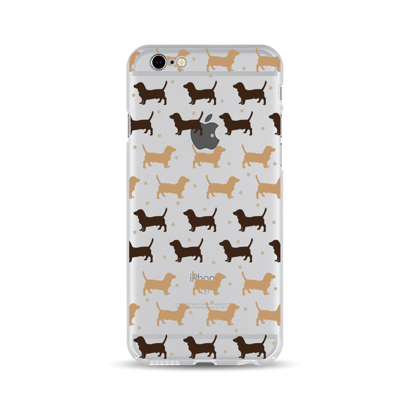 Brown Dachshund Dog - DesignoCase