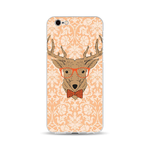 Red Glasses Deer - DesignoCase