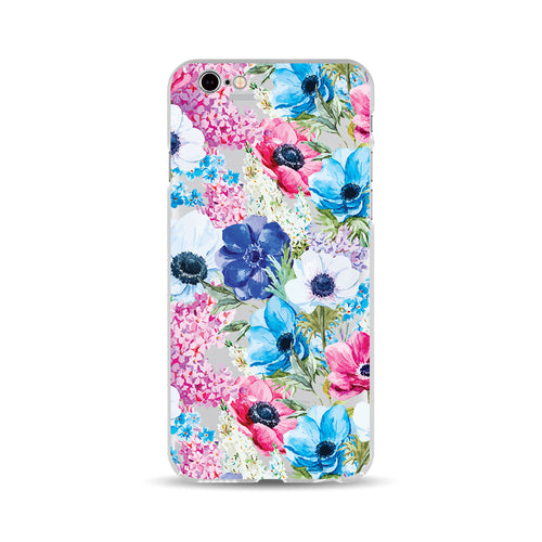 Blue and Pink Flowers - DesignoCase