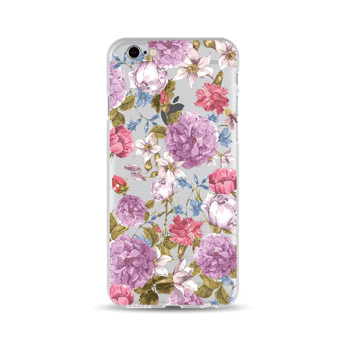 Purple and Red Flowers - DesignoCase