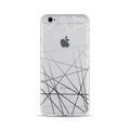 Black and Grey Lines - DesignoCase