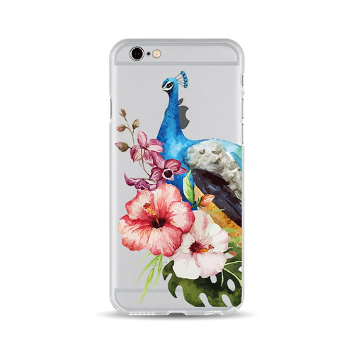 Peacock and Flowers - DesignoCase