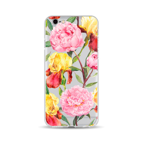 Pink and Yellow Flowers - DesignoCase