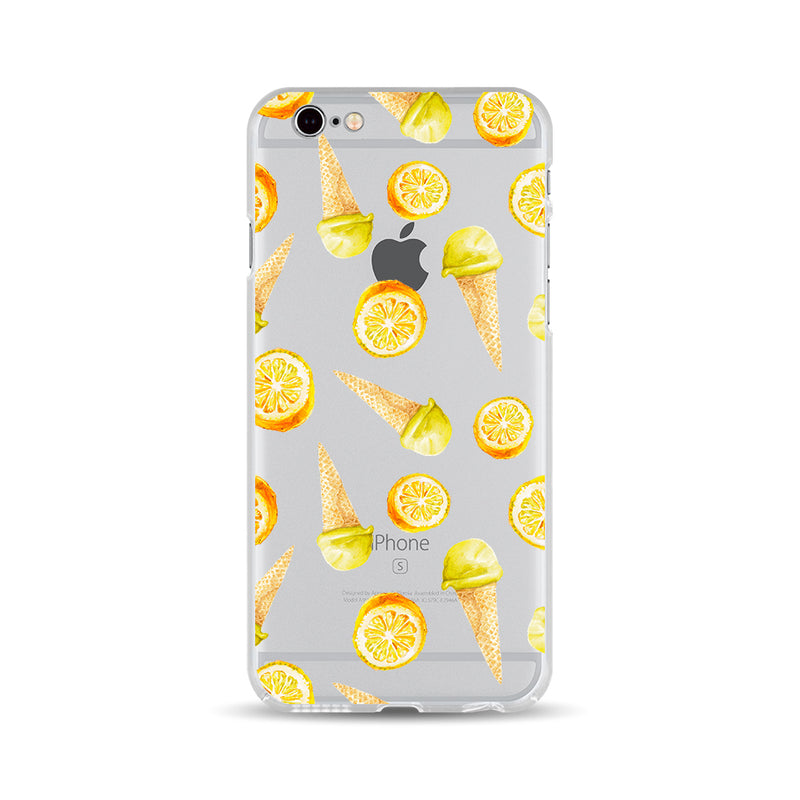 Orange Ice Cream Cone - DesignoCase