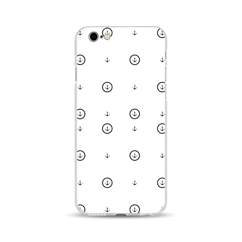 Anchor and Dot Lines Phone Case - DesignoCase